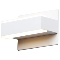 ET2 E23210-90WT Omni LED 7 inch White Bath Vanity Wall Light