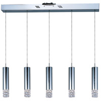 ET2 E23242-20PC Bangle 5 Light 5 inch Polished Chrome Pendant Ceiling Light