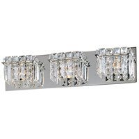 ET2 E23253-20PC Bangle 3 Light 20 inch Polished Chrome Bath Light Wall Light in 20.25 in. photo thumbnail