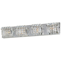 Bangle 4 Light 27 inch Polished Chrome Bath Light Wall Light in 27.25 in.