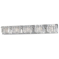 Bangle 5 Light 34 inch Polished Chrome Bath Light Wall Light in 34.25 in.