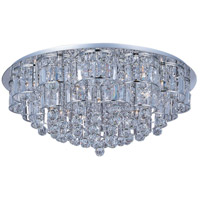 ET2 E23259-20PC Bangle 28 Light 32 inch Polished Chrome Flush Mount Ceiling Light