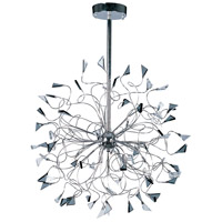 Calypso 12 Light 28 inch Polished Chrome Multi-Light Pendant Ceiling Light