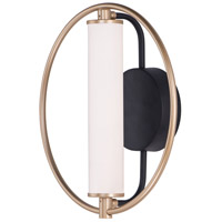 ET2 E23271-93BKSFTG Flare LED 5 inch Black and Soft Gold Wall Sconce Wall Light