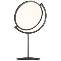 ET2 E23298-BK Paddle 22 inch 24 watt Black Table Lamp Portable Light