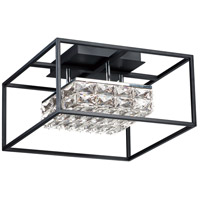ET2 E23300-20BK Zephyr LED 16 inch Black Flush Mount Ceiling Light