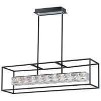 ET2 E23304-20BK Zephyr LED 36 inch Black Linear Pendant Ceiling Light