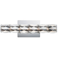 ET2 E23306-20PC Zephyr LED 18 inch Polished Chrome Bath Vanity Wall Light