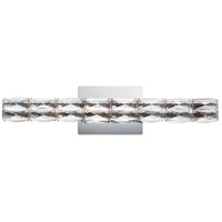 ET2 E23307-20PC Zephyr LED 24 inch Polished Chrome Bath Vanity Wall Light