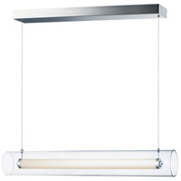 ET2 E23318-24PC Centrum 1 Light 35 inch Polished Chrome Linear Pendant Ceiling Light