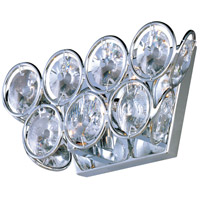 ET2 E24007-20PC Brilliant 2 Light 10 inch Polished Chrome Wall Sconce Wall Light