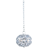 Brilliant 3 Light 8 inch Polished Chrome Pendant Ceiling Light