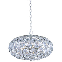 Brilliant 6 Light 16 inch Polished Chrome Pendant Ceiling Light