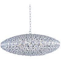 Brilliant 12 Light 34 inch Polished Chrome Pendant Ceiling Light