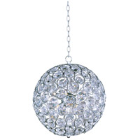 Brilliant 8 Light 16 inch Polished Chrome Pendant Ceiling Light