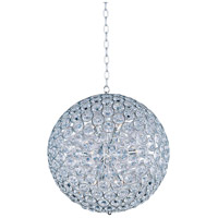 ET2 E24017-20PC Brilliant 12 Light 24 inch Polished Chrome Pendant Ceiling Light