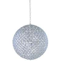 Brilliant 15 Light 36 inch Polished Chrome Pendant Ceiling Light