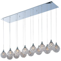 ET2 E24029-20PC Brilliant 14 Light 11 inch Polished Chrome Pendant Ceiling Light