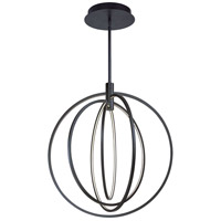 ET2 Lighting Concentric LED 1 Light Pendant in Bronze E24048-BZ