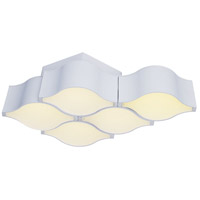 Billow LED 16 inch Matte White Wall Sconce Wall Light