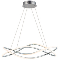 ET2 E24136-PC Coaster LED 10 inch Polished Chrome Single Pendant Ceiling Light