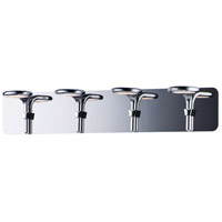 ET2 E24144-PC Cobra LED 28 inch Polished Chrome Bath Vanity Wall Light
