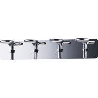 ET2 E24144-PC Cobra LED 28 inch Polished Chrome Bath Vanity Wall Light