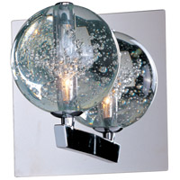 ET2 E24250-91PC Orb 1 Light 6 inch Polished Chrome Wall Sconce Wall Light photo thumbnail