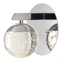 Orb II LED 6 inch Polished Chrome Wall Sconce Wall Light