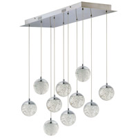 ET2 E24266-91PC Orb II LED 11 inch Polished Chrome Multi-Light Pendant Ceiling Light