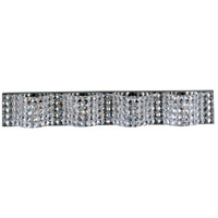 ET2 E24278-20PC Wave 4 Light 34 inch Polished Chrome Bath Light Wall Light