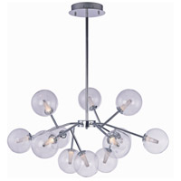 Satellite LED LED 34 inch Polished Chrome Foyer Pendant Ceiling Light
