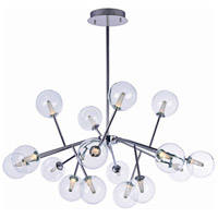 Satellite LED LED 41 inch Polished Chrome Foyer Pendant Ceiling Light