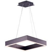 ET2 E24295-COF Metallika Led LED 17 inch Coffee Single Pendant Ceiling Light