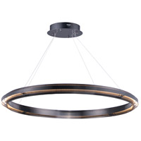 ET2 E24346-BGM Echo LED 47 inch Brushed Gunmetal Suspension Pendant Ceiling Light