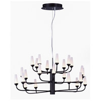 Candela LED LED 33 inch Bronze Multi-Tier Chandelier Ceiling Light