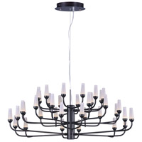 ET2 E24365-09BZ Candela LED LED 33 inch Bronze Multi-Tier Chandelier Ceiling Light