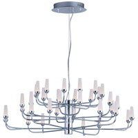 Candela LED LED 33 inch Polished Chrome Multi-Tier Chandelier Ceiling Light