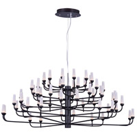 Candela LED LED 45 inch Bronze Multi-Tier Chandelier Ceiling Light