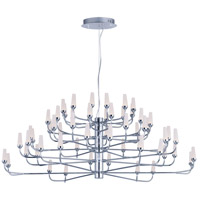 Candela LED LED 45 inch Polished Chrome Multi-Tier Chandelier Ceiling Light