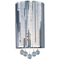 Illusion 2 Light 4 inch Polished Chrome Wall Sconce Wall Light