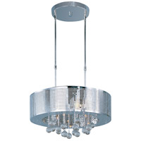 ET2 E24387-91PC Illusion 9 Light 22 inch Polished Chrome Pendant Ceiling Light