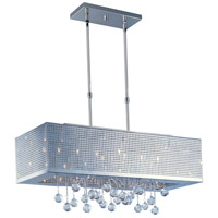ET2 Illusion 8 Light Linear Pendant in Polished Chrome E24388-91PC photo thumbnail