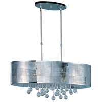 Illusion 9 Light 14 inch Polished Chrome Pendant Ceiling Light