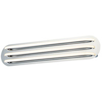 ET2 E24396-PC Neon LED 30 inch Polished Chrome Bath Vanity Wall Light