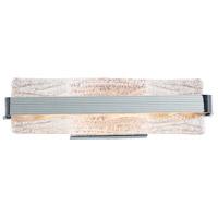ET2 E24422-124PC Ripple 1 Light 5 inch Polished Chrome Bath Vanity Light Wall Light