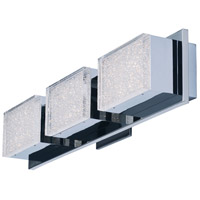 ET2 E24463-160PC Pizzazz LED LED 23 inch Polished Chrome Vanity Light Wall Light