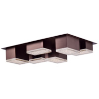 ET2 E24467-160COF Pizzazz LED LED 14 inch Coffee Flush Mount Ceiling Light