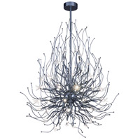 Orion LED 32 inch Polished Chrome Multi-Light Pendant Ceiling Light