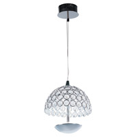 ET2 E24491-20PC Parasol LED 4 inch Polished Chrome Pendant Ceiling Light